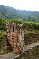 Корзина портера.  Базовый лагерь Аннапурны + сафари Читвана. Непал, Hikeup