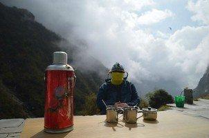Чаепитие.  Базовый лагерь Аннапурны + сафари Читвана. Непал, Hikeup