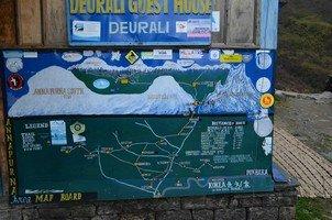 Схема движения.  Базовый лагерь Аннапурны + сафари Читвана. Непал, Hikeup