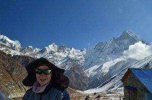 Виктория в АВС.  Базовый лагерь Аннапурны + сафари Читвана. Непал, Hikeup