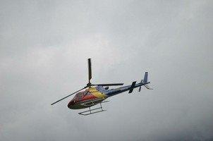Вертолет-муха.  Світанок біля підніжжя Аннапурни. Непал, Hikeup