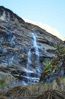 Водопад.  Рассвет у подножья Аннапурны, Hikeup
