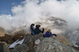 В облаках.  Світанок біля підніжжя Аннапурни. Непал, Hikeup