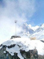 Трезубец Шивы в АВС.  Світанок біля підніжжя Аннапурни. Непал, Hikeup
