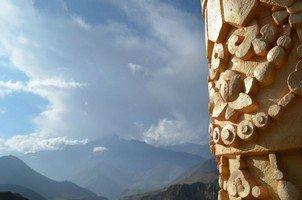 Резной столбик.  Вокруг Аннапурны. Непал - Перевал Торонг-Ла, Hikeup