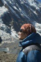 Турист Женя возле озера Тиличо.  Вокруг Аннапурны. Непал - Перевал Торонг-Ла, Hikeup