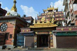 Буддистский храм в Катманду.  Вокруг Аннапурны. Непал - Перевал Торонг-Ла, Hikeup