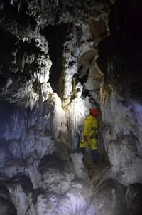 В пещере Обвадьная.  Пещеры Чатыр-Дага, Hikeup