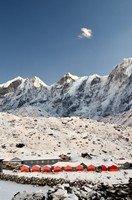 Лагерь в селении Дзонгла.  Чарующий и таинственный Непал. Далеко и ещё дальше., Hikeup