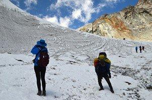 Перевал Чо Ла (5368 м).  Чарующий и таинственный Непал. Далеко и ещё дальше., Hikeup