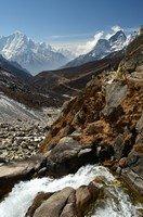 По дороге в Мачермо.  Чарующий и таинственный Непал. Далеко и ещё дальше., Hikeup