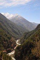 По дороге в Намче Базар.  Чарующий и таинственный Непал. Далеко и ещё дальше., Hikeup