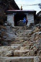 По дороге в Пангбоче.  Чарующий и таинственный Непал. Далеко и ещё дальше., Hikeup