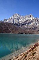 Уточка на озере Гокио.  Чарующий и таинственный Непал. Далеко и ещё дальше., Hikeup