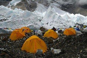 Базовый лагерь Эвереста.  Базовый лагерь Эвереста и озера Гокио, Hikeup