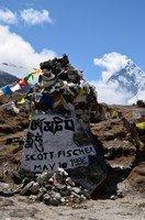Мемориал Скотту Фишеру.  Базовый лагерь Эвереста и озера Гокио, Hikeup