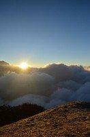 Вид со смотровой площадки Марди Химала.  Тибетский Новый год и Марди Химал трек, Hikeup