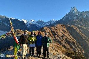 Мачапучаре и мы.  Тибетский Новый год и Марди Химал трек, Hikeup