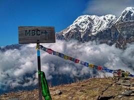 Совсем рядом с базовым лагерем Марди Химал.  Марді Хімал трек та рафтинг по Білій воді. Непал, Hikeup