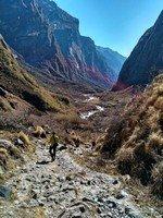 По дороге к Деурали.  От Марди до Аннапурны. Непал, Hikeup