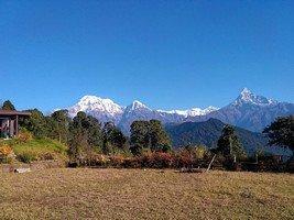 Вид из Австралийского лагеря.  От Марди до Аннапурны. Непал, Hikeup