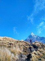 Всё ближе к цели, совсем рядом с домом Шивы..  От Марди до Аннапурны. Непал, Hikeup