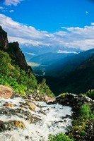 Выше водопада Мазери.  Сванский хребет и другие приключения. Грузия. Сванетия, Hikeup