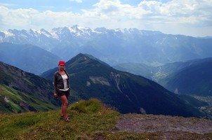 Вид с перевала Гули на Сванский хребет.  Сванский хребет и другие приключения. Грузия. Сванетия, Hikeup
