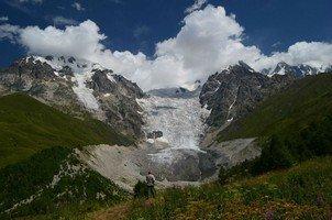 Ледник Адиши.  Поход по грузинскому Кавказу. Верхняя Сванетия, Hikeup