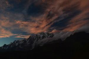 Закат в Сванетии.  Трекинг в Сванетии, Грузия, Hikeup