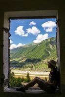 Окно в горы.  Трекинг в Сванетии, Грузия, Hikeup