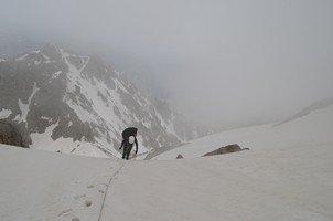 В движении.  Сходження на «Снігову королеву» г. Тетнульд. Грузія, Hikeup