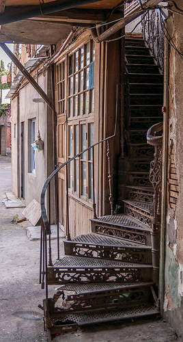 Лестница в Тбилиси