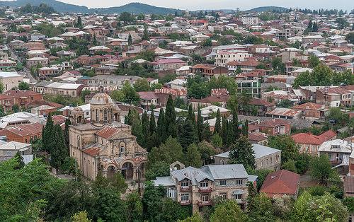 Панорама Кутаиси