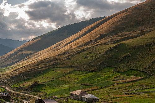 Окрестности Ушгули, Сванетия