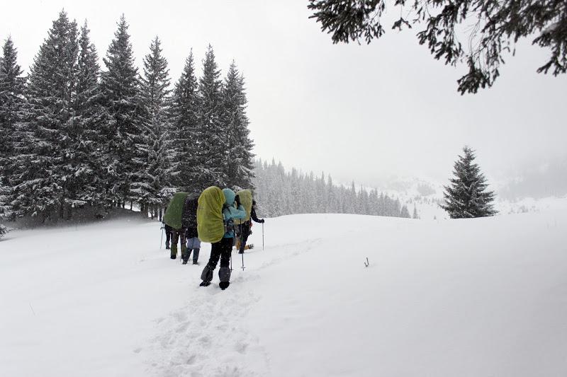 Зимний поход по Карпатам