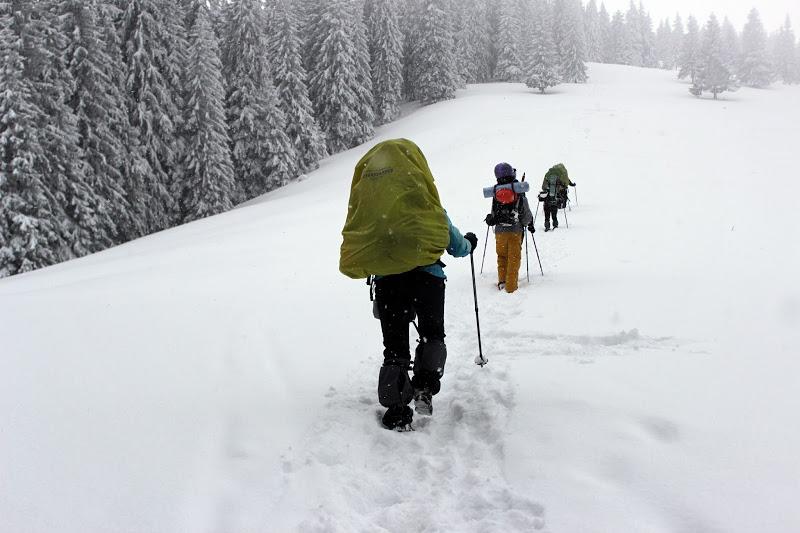 Зимний поход по Черногорскому хребту
