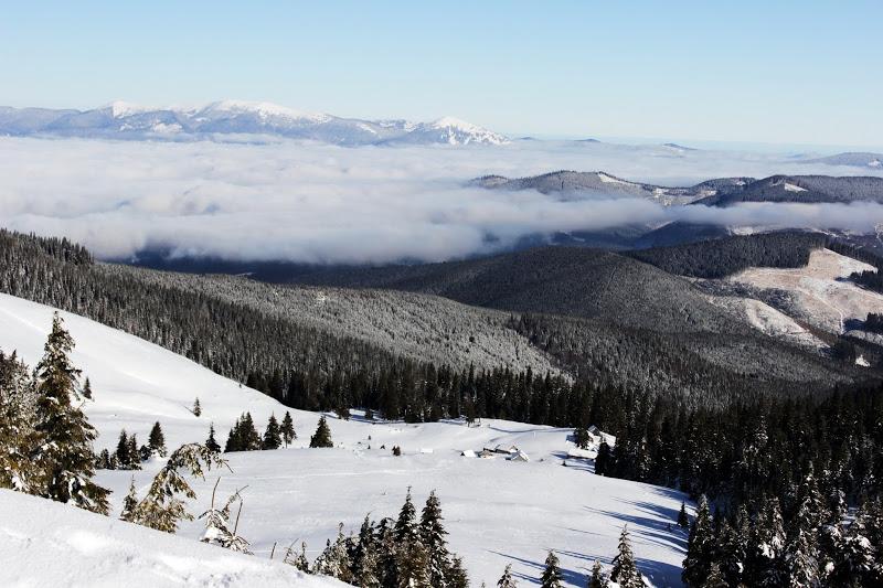 Вид с Говерлы зимой