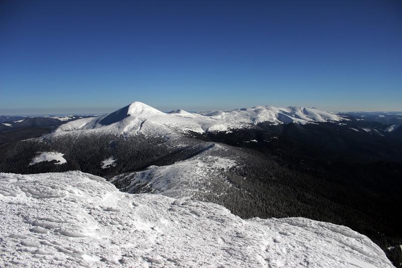 Зимний поход по Карпатским хребтам