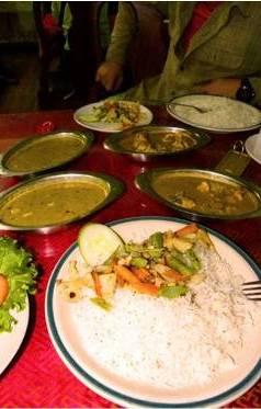 Еда и вода в Непале