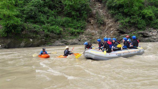 Рафтинг и сплав в Непале